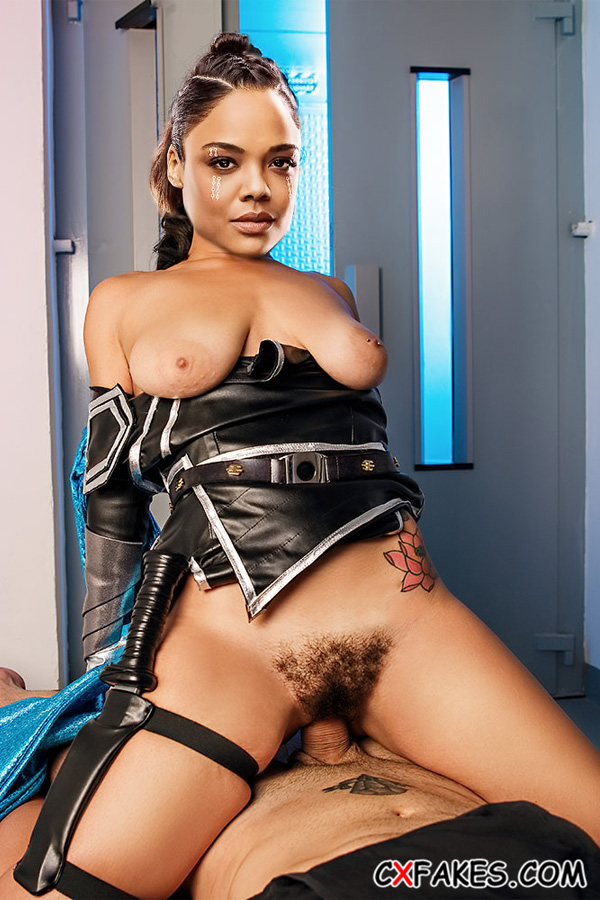 Valkyrie (Tessa Thompson) Having Sex