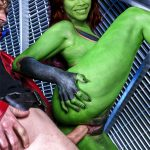 Gamora (Zoe Saldana) Having Sex WIth Peter Quill